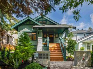 Townhouse for sale in Kitsilano, Vancouver, Vancouver West, 1845 W 15th Avenue, 262509129 | Realtylink.org