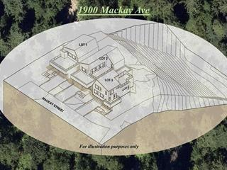 Lot for sale in Pemberton Heights, North Vancouver, North Vancouver, 1900 Mackay Avenue, 262624159 | Realtylink.org