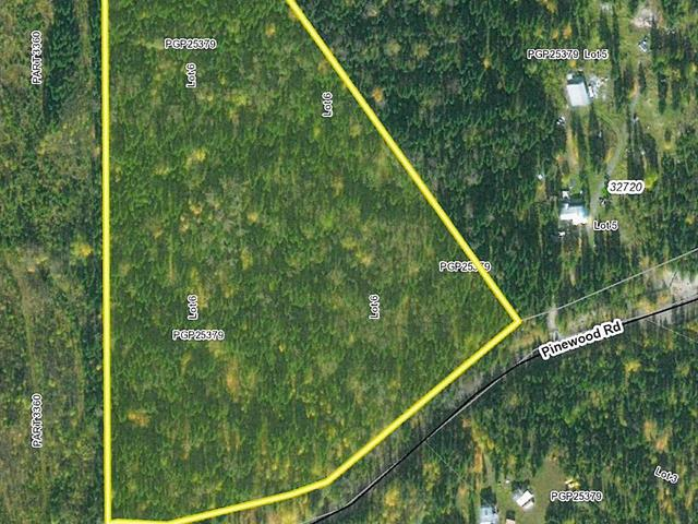 Lot for sale in Isle Pierre, Prince George, PG Rural West, Lot 6 Pinewood Road, 262639135 | Realtylink.org