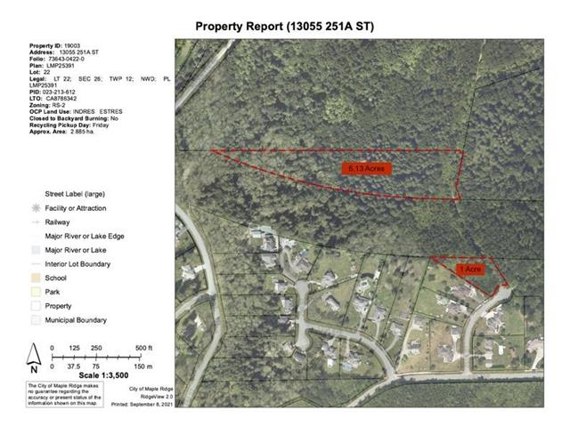 Lot for sale in Silver Valley, Maple Ridge, Maple Ridge, 13055 251a Street, 262629907 | Realtylink.org