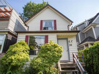 House for sale in Mount Pleasant VW, Vancouver, Vancouver West, 20 W 14th Avenue, 262637242   Realtylink.org