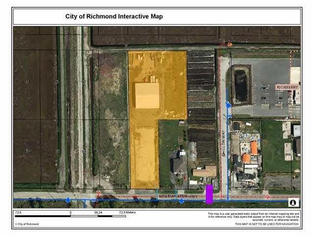 Lot for sale in East Richmond, Richmond, Richmond, 20291 Westminster Highway, 262629726 | Realtylink.org