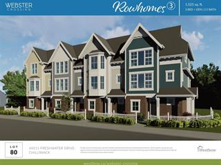 Townhouse for sale in Vedder S Watson-Promontory, Chilliwack, Sardis, 44511 Freshwater Drive, 262629283   Realtylink.org