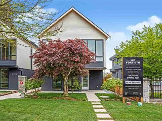 Townhouse for sale in Fraserview VE, Vancouver, Vancouver East, 2555 E 40th Avenue, 262629218 | Realtylink.org