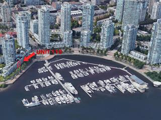 Townhouse for sale in Yaletown, Vancouver, Vancouver West, 110 1228 Marinaside Crescent, 262585675   Realtylink.org