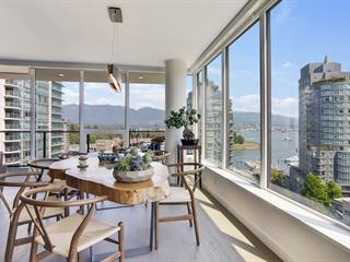 Apartment for sale in Coal Harbour, Vancouver, Vancouver West, 1302 620 Cardero Street, 262624275 | Realtylink.org