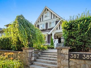 Fourplex for sale in Mount Pleasant VW, Vancouver, Vancouver West, 387 W 13th Avenue, 262634266 | Realtylink.org
