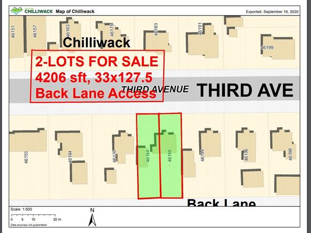 Lot for sale in Chilliwack E Young-Yale, Chilliwack, Chilliwack, 46188 Third Avenue, 262519287 | Realtylink.org