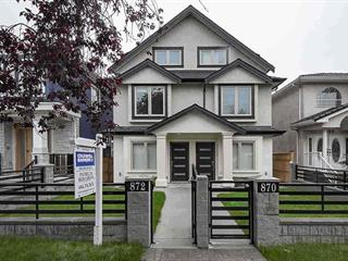 1/2 Duplex for sale in South Vancouver, Vancouver, Vancouver East, 870 E 58th Avenue, 262518698 | Realtylink.org