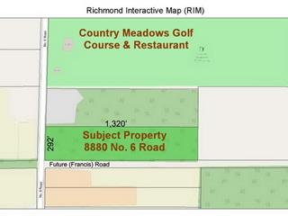 Lot for sale in East Richmond, Richmond, Richmond, 8880 No. 6 Road, 262507130 | Realtylink.org