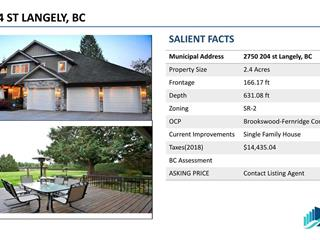 House for sale in Brookswood Langley, Langley, Langley, 2750 204 Street, 262483604 | Realtylink.org