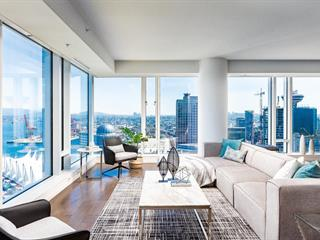 Apartment for sale in Coal Harbour, Vancouver, Vancouver West, 3601 1011 W Cordova Street, 262646100   Realtylink.org