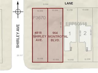 Lot for sale in Canyon Heights NV, North Vancouver, North Vancouver, 4818 Shirley Avenue, 262646069 | Realtylink.org
