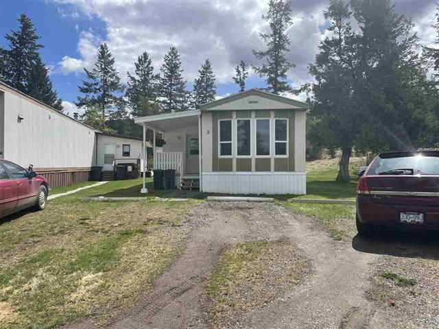 Manufactured Home for sale in Williams Lake - City, Williams Lake, Williams Lake, 2 1265 S Lakeside Drive, 262598121   Realtylink.org