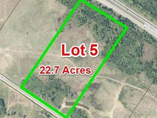 Lot for sale in Qualicum Beach, Qualicum North, Lot 5 Blacktail Rd, 875393 | Realtylink.org