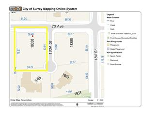 Lot for sale in Hazelmere, Surrey, South Surrey White Rock, 18338 20 Avenue, 262602293 | Realtylink.org