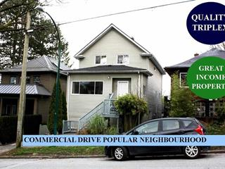 House for sale in Grandview Woodland, Vancouver, Vancouver East, 1529 Grant Street, 262578557 | Realtylink.org