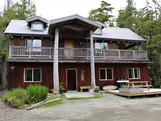 House for sale in Tofino, Tofino, 1430 Pacific Rim Hwy, 874929 | Realtylink.org