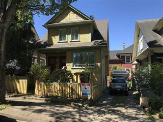 House for sale in Mount Pleasant VW, Vancouver, Vancouver West, 2213 Ontario Street, 262605323   Realtylink.org