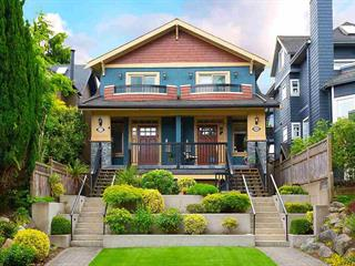 1/2 Duplex for sale in Kitsilano, Vancouver, Vancouver West, 2150 W 3rd Avenue, 262604031 | Realtylink.org