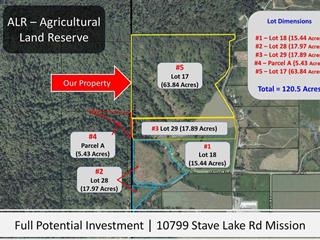 Lot for sale in Durieu, Mission, Mission, Lot 17 10799 Stave Lake Road, 262605200   Realtylink.org