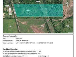 Lot for sale in Topley, Burns Lake, 29886 Meanwhile Road, 262603184 | Realtylink.org