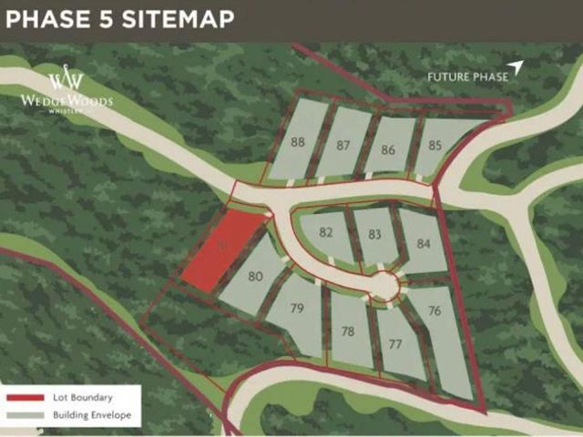 Lot for sale in WedgeWoods, Whistler, Whistler, 9361 Wedgemount Plateau Drive, 262610949   Realtylink.org