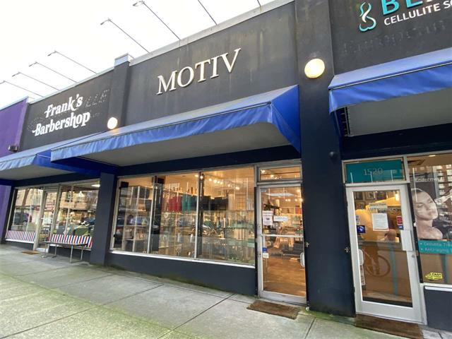 Retail for lease in Fairview VW, Vancouver, Vancouver West, 1510 W 11th Avenue, 224941495   Realtylink.org