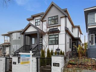 1/2 Duplex for sale in South Vancouver, Vancouver, Vancouver East, 749 E 60th Avenue, 262550063 | Realtylink.org