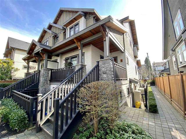 Townhouse for sale in Mount Pleasant VW, Vancouver, Vancouver West, 4 138 W 13th Avenue, 262569268   Realtylink.org