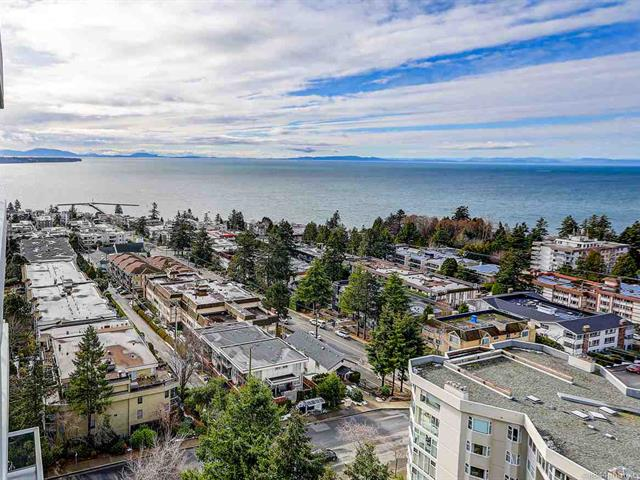 Apartment for sale in White Rock, South Surrey White Rock, 1501 15165 Thrift Avenue, 262564873 | Realtylink.org
