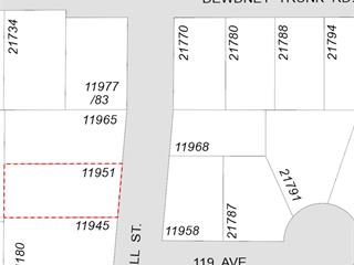 Commercial Land for sale in West Central, Maple Ridge, Maple Ridge, 11951 Hall Street, 224941991 | Realtylink.org