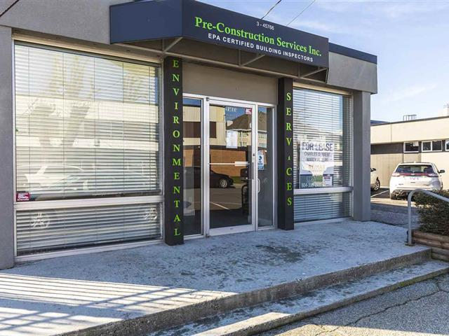 Office for lease in Chilliwack W Young-Well, Chilliwack, Chilliwack, 3 45766 Patten Avenue, 224941842 | Realtylink.org