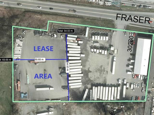 Commercial Land for lease in Aberdeen, Abbotsford, Abbotsford, West Part 30260 Fraser Highway, 224939787 | Realtylink.org