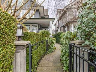 Townhouse for sale in Kitsilano, Vancouver, Vancouver West, 1738 Balaclava Street, 262563657 | Realtylink.org