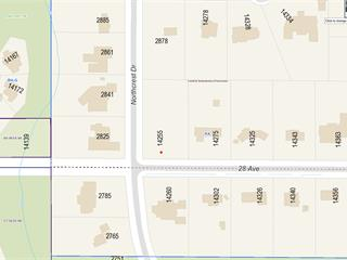 Lot for sale in Elgin Chantrell, Surrey, South Surrey White Rock, 14255 28 Avenue, 262564665 | Realtylink.org