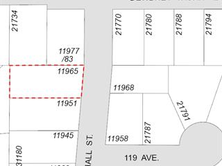Commercial Land for sale in West Central, Maple Ridge, Maple Ridge, 11965 Hall Street, 224941929 | Realtylink.org