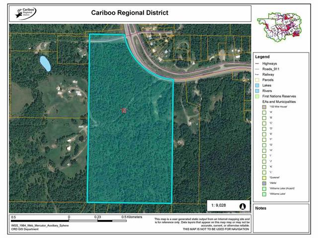 Lot for sale in Bouchie Lake, Quesnel, Quesnel, Dl 6171 Blackwater Road, 262557015 | Realtylink.org