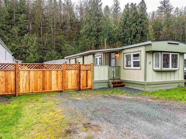 Manufactured Home for sale in Columbia Valley, Cultus Lake, Cultus Lake, 19 3942 Columbia Valley Highway, 262560176 | Realtylink.org
