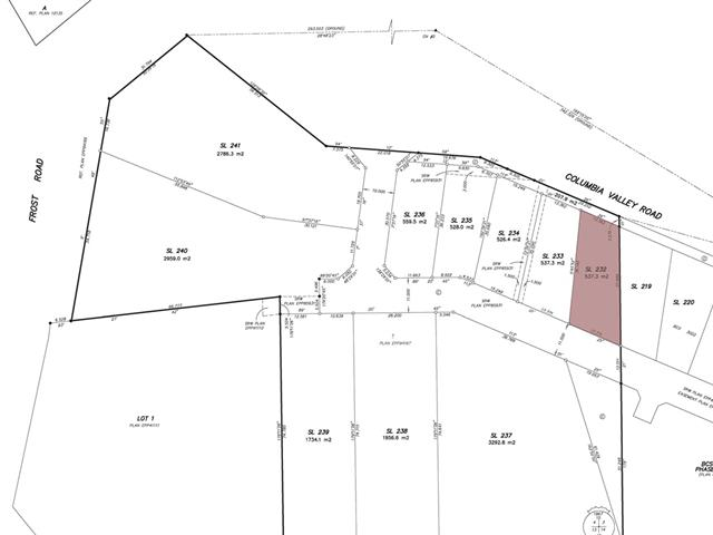 Lot for sale in Lindell Beach, Cultus Lake, 43401 Blue Grouse Lane, 262543440 | Realtylink.org