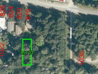 Lot for sale in Errington, Errington/Coombs/Hilliers, 13 Williams St, 864298 | Realtylink.org