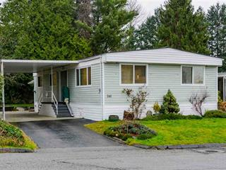 Manufactured Home for sale in King George Corridor, Surrey, South Surrey White Rock, 241 1840 160 Street, 262562216 | Realtylink.org