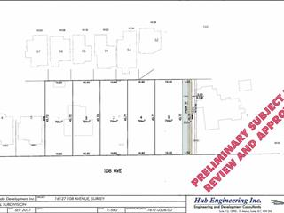 Lot for sale in Fraser Heights, Surrey, North Surrey, Lot #1 16127 108 Avenue, 262562360 | Realtylink.org