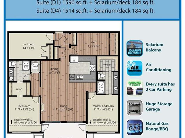 Apartment for sale in Willoughby Heights, Langley, Langley, 405 20325 85 Avenue, 262575361   Realtylink.org