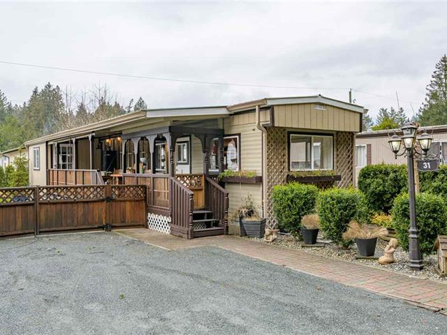Manufactured Home for sale in Cultus Lake, Chilliwack, Cultus Lake, 31 3942 Columbia Valley Highway, 262565225 | Realtylink.org