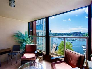 Apartment for sale in Yaletown, Vancouver, Vancouver West, 602 1000 Beach Avenue, 262594053 | Realtylink.org