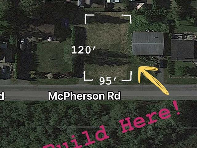Lot for sale in Harrison Hot Springs, Harrison Hot Springs, 305 McPherson Road, 262576751   Realtylink.org