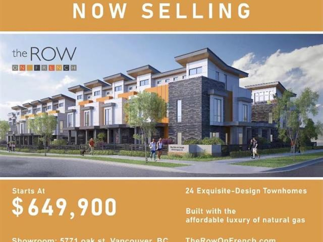 Townhouse for sale in Marpole, Vancouver, Vancouver West, Sl 24 8335 French Street, 262594244 | Realtylink.org