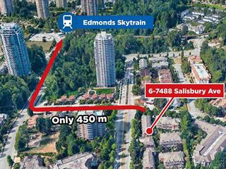 Townhouse for sale in Highgate, Burnaby, Burnaby South, 6 7488 Salisbury Avenue, 262591311 | Realtylink.org