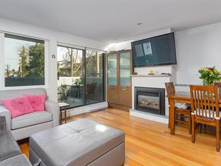 Apartment for sale in Kitsilano, Vancouver, Vancouver West, 104 1512 Yew Street, 262596061 | Realtylink.org